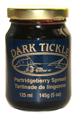 Dark Tickle - Partridgeberry Spread - 125ml