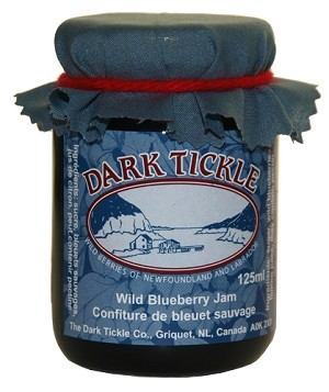 Dark Tickle - Wild Blueberry Jam - 125 ml