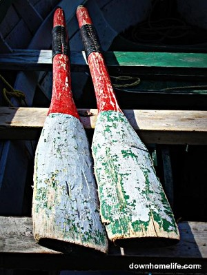 Canvas Photo - 10 x 16 - Oars