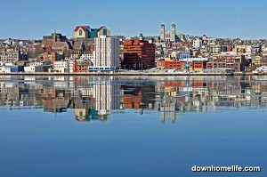 Canvas Photo - 11 x 14 - Waterfront Mirror - Reflection