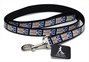 Dog Leash - Newfoundland Flag
