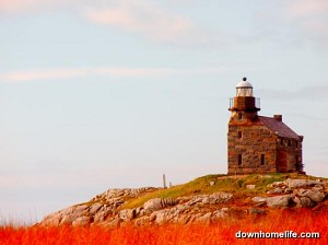 Canvas Photo - 11 x 14 - Rose Blanche Lighthouse