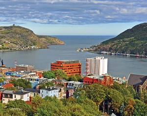 Canvas Photo  - 11 x 14 - A View of St John's