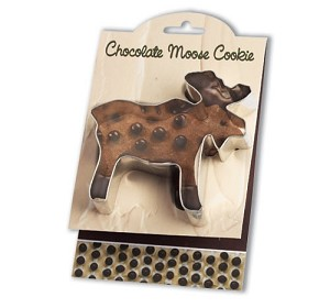 Cookie Cutter - Chocolate Moose