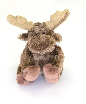 Plush - Sitting Moose - 8""
