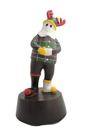 Figurine - Mummer Town - Limited Edition -The Mummer's Song - Large 8""