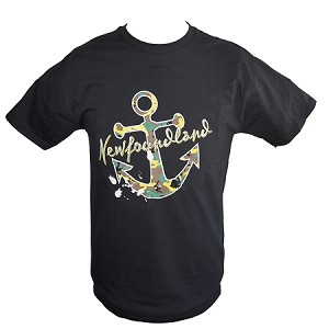 Mens - Newfoundland Camo Anchor - Black