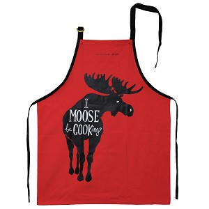 Apron - I Moose Be Cooking