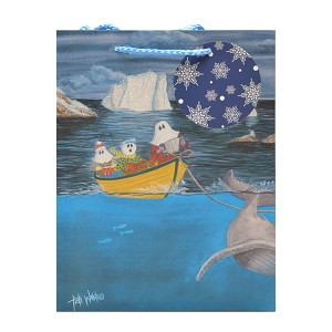 "Gift Bag  - Mummer's Afloat - Large - 12.75"" x 5.38"" x 10.38"""