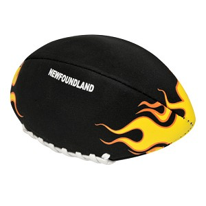 Neopreme - Kids Football - Soft - Black w Flames