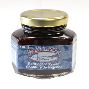 Dark Tickle - Hexagon Jar - Partridgeberry Jam - 110ml