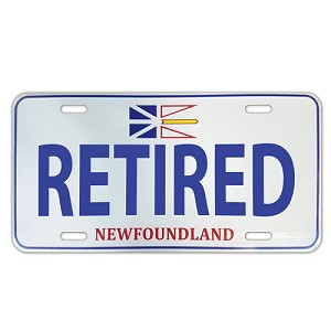 Licence Plate - Retired - Newfoundland