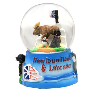 "Snow Globe - Newfoundland and Labrador - 2.5"" - Small"