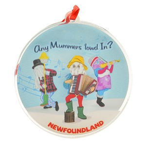 "Ornament - 3D - Any Mummers ""lowed In"" - 3"" Round"