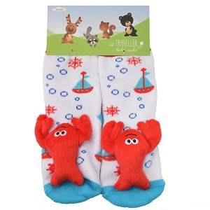 Lobster Toes Socks