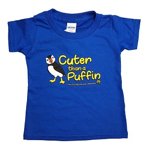 Kids - T Shirt Cuter Than a Puffin - Newfoundland and Labrador