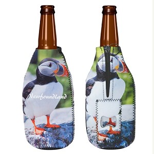 Insulated Party Popper - With Bottle Opener - Puffin