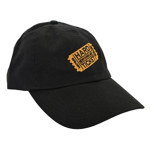 Hard Ticket - Cap - Black