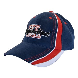 Newfoundland Script with Block Letters Cap - Navy