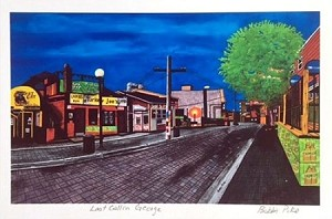 Matted Print - Bobbi Pike - 8 x 10 - Last Call on George
