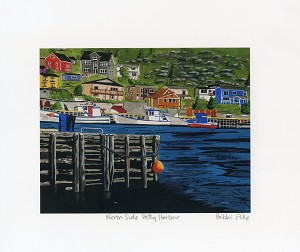 Bobbi Pike - North Side: Petty Harbour - 8 x 10 - Unmatted Print