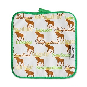 Pot Holder - Newfoundland & Labrador Moose Silhouette