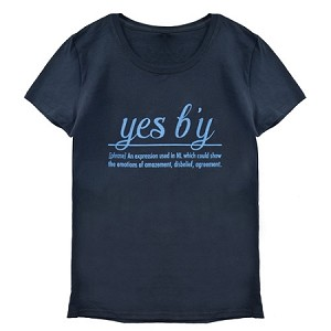 Ladies - Yes B'y - Black