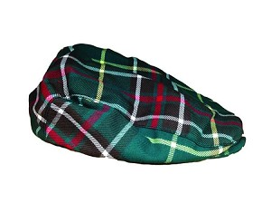 Child's Newfoundland Tartan Salt n' Pepper Cap