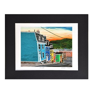 Matted Print - Bobbi Pike - 8 x 10 - Wired