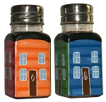 Salt and Pepper Shakers - Set of 2 - Downtown