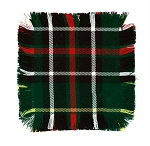 Tartan Mug Rugs - set of 4 -  5