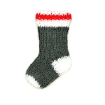 Ornament - Hand crafted Sock - 3