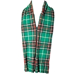 Fleece Scarf - Front Zipper - Newfoundland Tartan