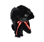 Plush - Newfoundland Dog  w Ribbon 8
