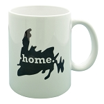 Newfoundland Map with Home - Mug