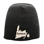 Toque - Newfoundland Map with Home - Black