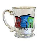Beer Stein - Hand Painted - Jelly Bean Row - Best kind !