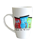 Hand Painted - Jelly Bean Row - Stund as me Arse !  - Mug