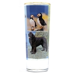 Tall Shooter Glass with Newfoundland Photo Collage