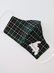 Non-Medical Face Covering - Adult - Tartan with Home/Map Design