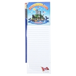 Cabot Tower Collage Notepad with Pencil - Cartoon