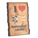 I Love Newfoundland and Labrador Bark Sign