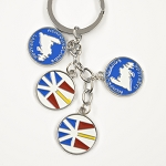 Key Chain - NL Flag and Maps