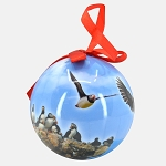 Paper Puffin Christmas Ball