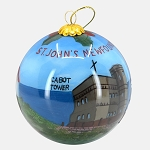 Christmas Ball with Cabot Tower, The Rooms and Cape Spear