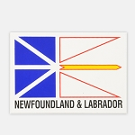 Newfoundland Flag Sticker