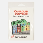 Embroidered Patch - Rowhouses