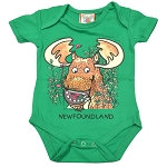 Onesie - Floppy Moose - Double Sided - Gree