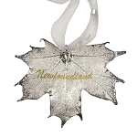 Real Sugar Maple Leaf Ornament