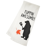Dish Towel - Flippin' Awesome